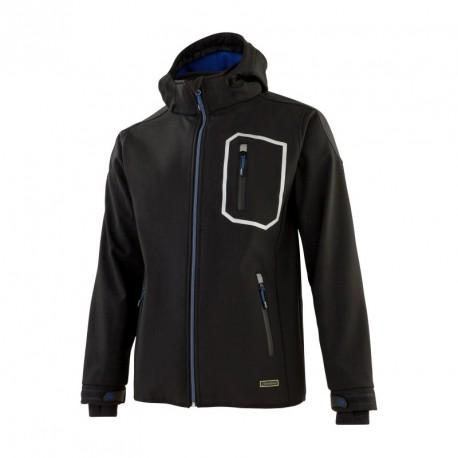 Veste softshell DYNAMIC WORK noir T.XL