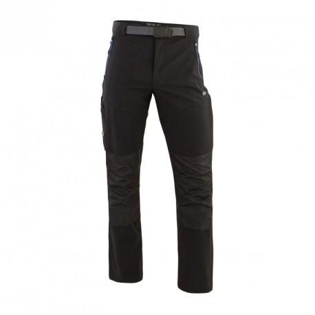 Pantalon genouillères SOFTSHELL noir T.42
