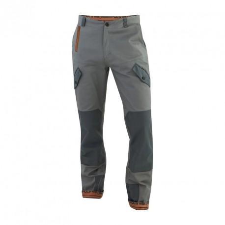 Pantalon genouillères MIX & MATCH gris T.44