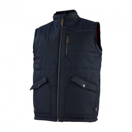 Gilet BODY WARMER DENIM marine T.M