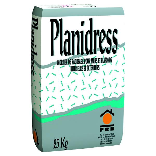 Mortier ragréage PLANIDRESS gris clair sac 25kg