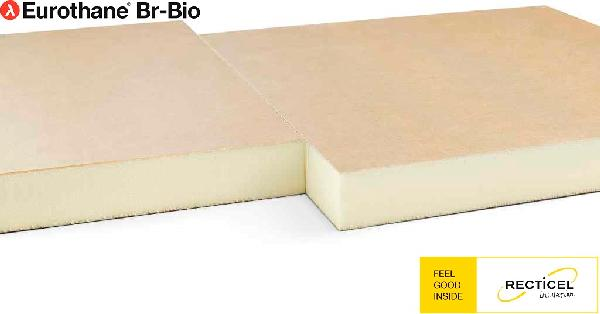 Polyuréthane EUROTHANE BR BIO bord droit 110mm 60x60cm par 8 R=5