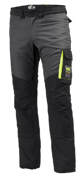 Pantalon de travail AKER WORK PANT noir/gris T.50