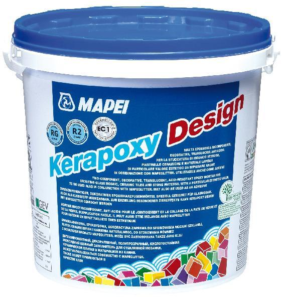 Mortier joint KERAPOXY DESIGN 113 gris ciment kit 3kg KERAPOXY DESIGN