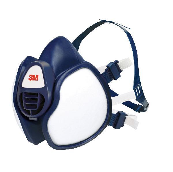 Demi-masque à filtres intégrés A1P2