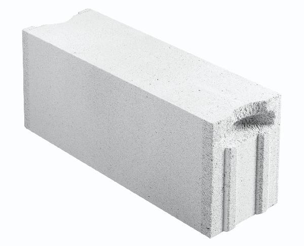Bloc béton cellulaire à emboitement et poignée 20x25x62,5cm