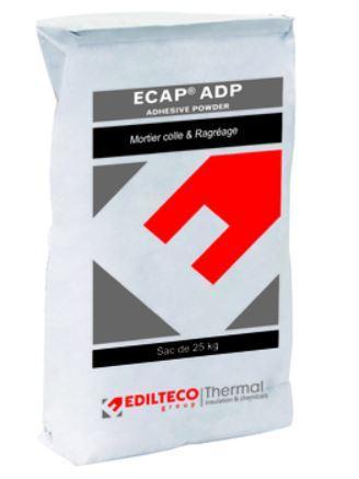 Mortier ECAP ADP ragréage gris sac 25Kg