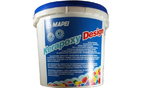 Mortier joint KERAPOXY DESIGN 114 anthracite kit 3kg KERAPOXY DESIGN