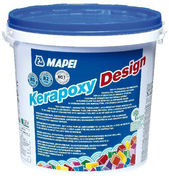 Mortier joint KERAPOXY DESIGN 115 gris fleuve kit 3kg