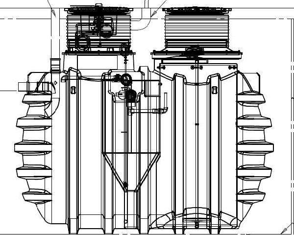 Microstation d'épuration BIOFICIENT+ 10EH compresseur interne