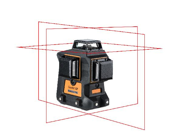 Laser multilignes GEO6X-360 rouge coffret