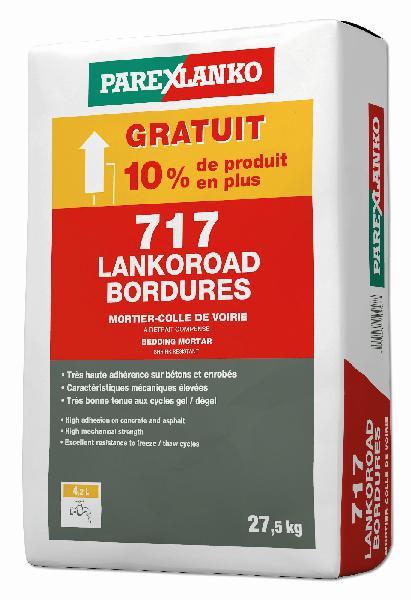 Mortier pour scellement de bordures 717 LANKOROAD BORDURE 25kg +10%