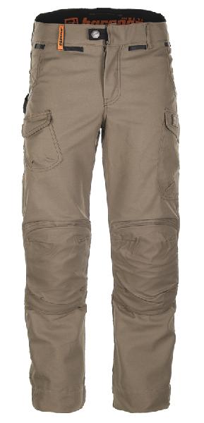 Pantalon standard HARPOON MULTI noisette T.48 pour bâtiment souple