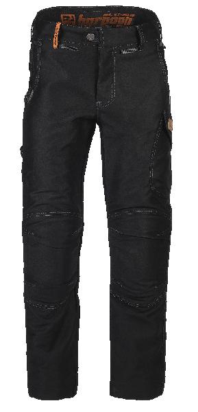 Pantalon HARPOON ALTI MOLESKINE noir T.48 pour charpentier/couvreur