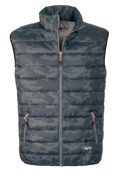 Gilet THERMIC EASY camouflage T.M