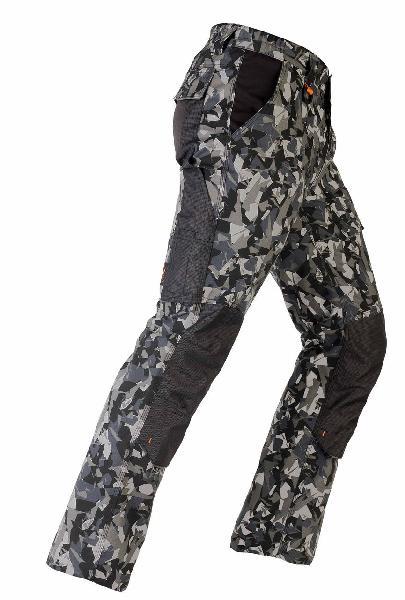 Pantalon avec renforcements TENERE PRO camouflage gris T.M