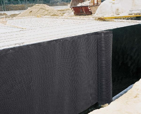 Nappe protection parois enterrées LES INDISPENSABLES 2x20m