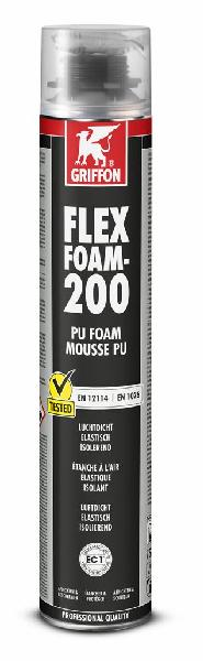 Mousse monocomposant pour pistolet mousse PU FLEX-FOAM 200 750ml