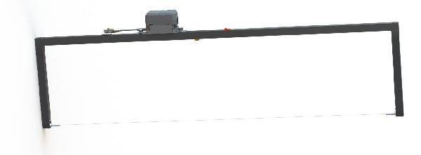 Arche de découpe avec fil chaud rechargeable