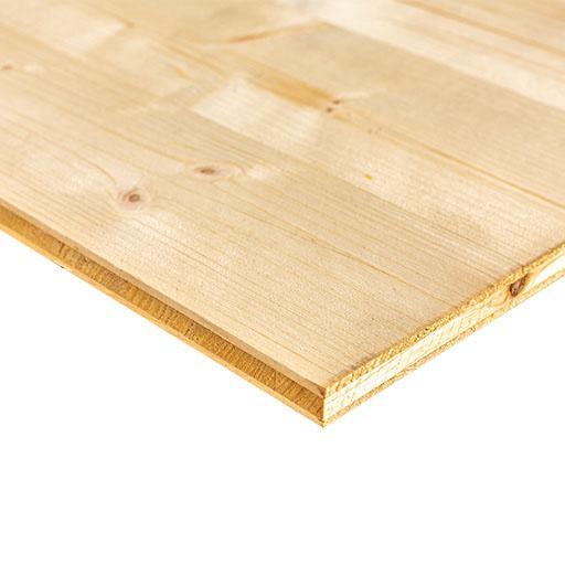 Panneau 3 plis épicéa B/C+ SWP3 27x5000x2050mm