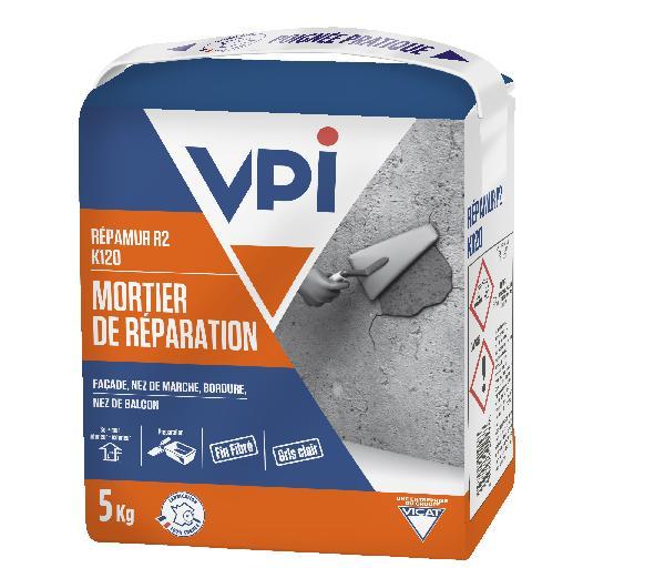 Mortier de réparation K120 REPAMUR R2 sac 5kg