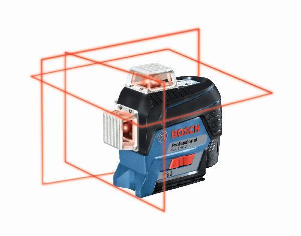 Laser ligne GLL3-80C rouge +support BM1 12V coffret + set hiver offert