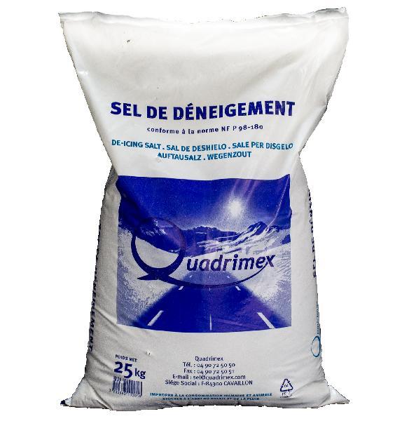 Sel de deneigement sec sac 25kg
