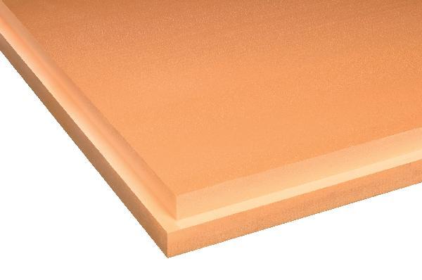 Polystyrene extrudé SL feuilluré 80mm 125x60cm R=2,25