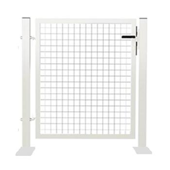 Portillon acier NEW GARDEN 1m Blanc
