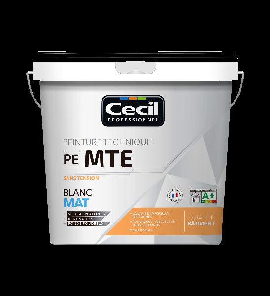 Peinture sans tension MTE mat blanc 5L