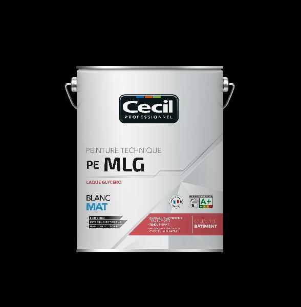 Peinture boiserie MLG mat laqué glycéro alkyde blanc 5L