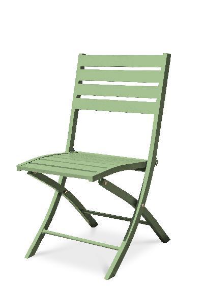 Chaise aluminium pliante lagune
