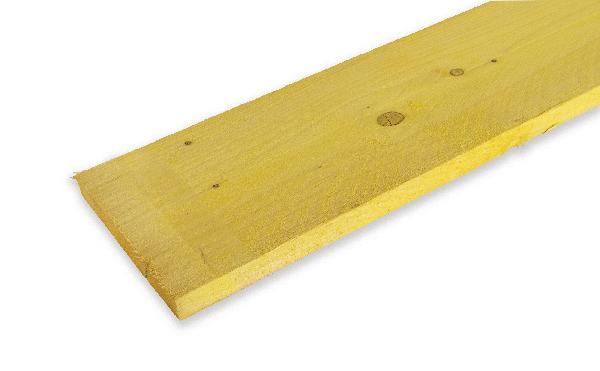 Planche sapin/épicéa traité CL2 27x305mm 4,00m