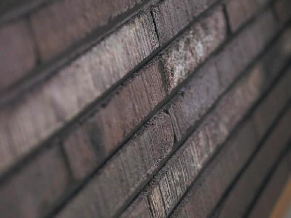 Brique pleine moulée main MAGISTRADA FAMOSA gris 40x10cm Ep.4cm