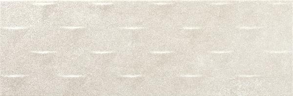 Faïence décor NEUTRAL triangulum marfil mat 20x60cm