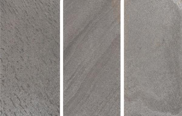 Parement feuille ardoise 1090 61x122cm gris