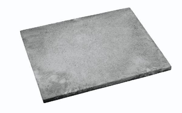 Dalle NEW YORK lisse 60x45cm Ep.30mm gris minéral nuancé