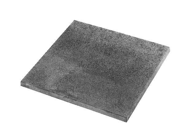 Dalle CALYPSO lisse 60x60cm Ep.30mm gris minéral nuancé