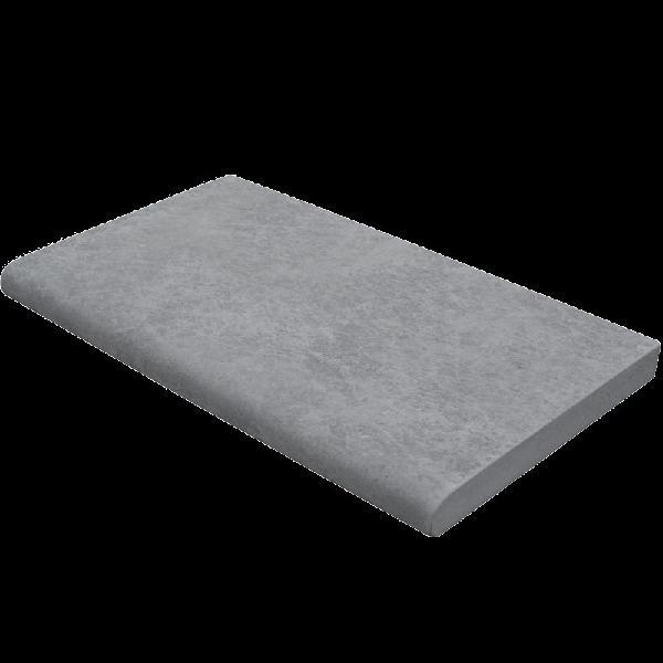 Margelle droite CALYPSO 30x60cm Ep.35mm gris minéral nuancé