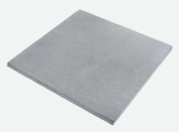 Dalle MONT D'OR 50x50cm Ep.22mm gris minéral nuancé