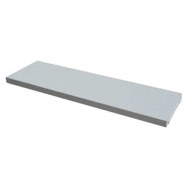 Couvertine OPTIPOSE plat 99x30cm Ep.4cm gris