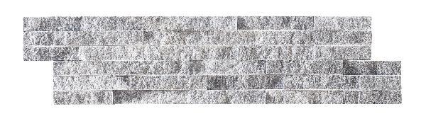 Parement marbre sur résine LAJA 15x60cm gris