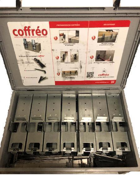 Kit complet COFFREO pour coffrage de rive 22m