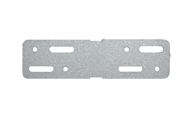 Plat de jonction PROFILDECK 12x3,2cm Ep.0,3cm sachet 10