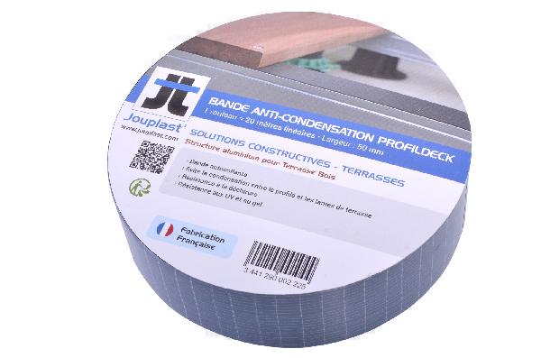 Bande anti condensation PROFILDECK 20mx50mm noir