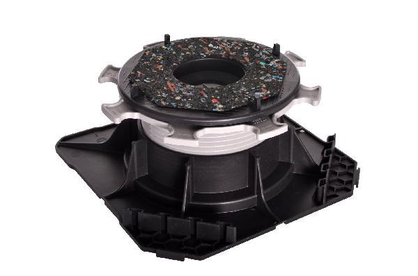 Plot autonivelant double réglage CLEMAN H55-80mm pour dalle