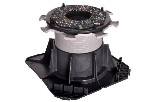 Plot autonivelant double réglage CLEMAN H80-130mm pour dalle