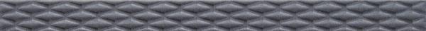 Listel SOLID géométric anthracite 5cm x60cm