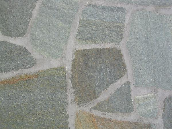 Pierre naturelle LUSERNA opus incertum gris-vert Ep.20/40mm