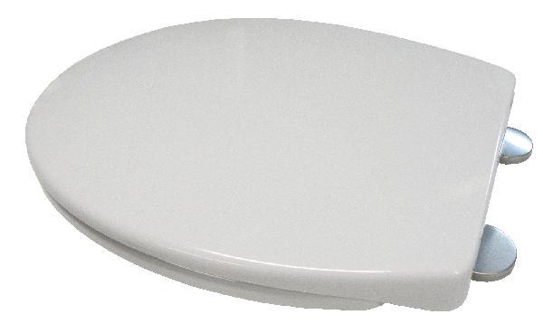 Abattant WC thermodur AUTO CLIP blanc